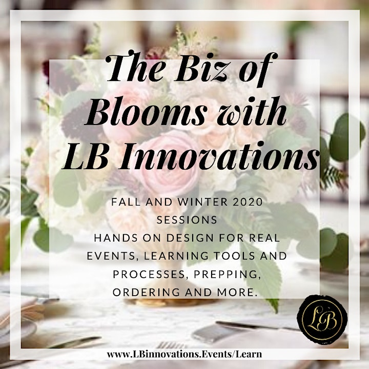 The Biz of Blooms with LB Innovations: MINI SESSIONS image