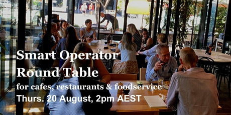 Smart Operator Round Table - for Cafes, Restaurants & Foodservice tickets