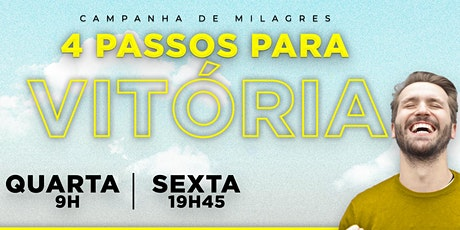 IEQ IGUATEMI - CULTO DE MILAGRES - QUA - 05/08 - 9H bilhetes
