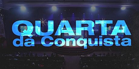 Quarta da Conquista // 19h ingressos