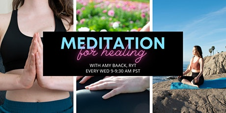 Online Meditation for Healing tickets