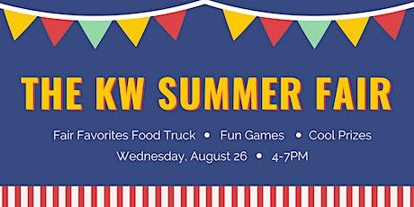 The KW Summer Fair tickets