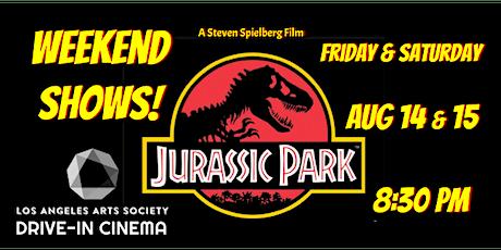 JURASSIC PARK: Drive-In Cinema (Saturday) tickets