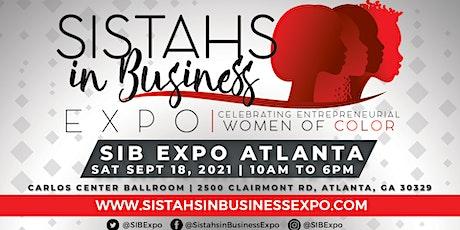 Sistahs in Business Expo 2021 - Atlanta, GA tickets