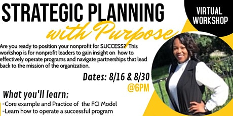 Strategic Planning with Purpose tickets