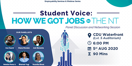"Skill Up 2 Scale Up: ""Student Voice: How We Got Jobs in the NT"" tickets"