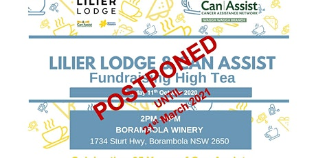 Lilier Lodge & Can Assist Fundraising High Tea tickets