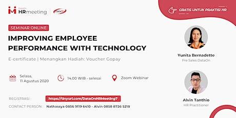 DataOn HR Meeting Online Seminar billets
