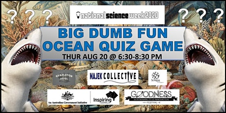 Big Dumb Fun Ocean Quiz Game tickets