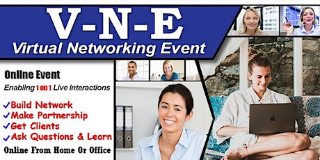 Exclusive Virtual Business & Startup Networking- Do 1 on 1 chat tickets