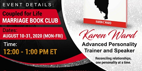 """""""Coupled For Life"""" -  21 Day Marriage Book Series tickets"""