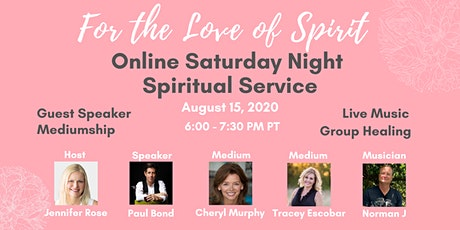 Online Saturday Night Spiritual Service tickets
