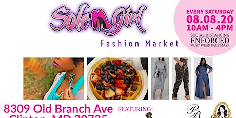 Sole Girl Saturday Fashion Market tickets