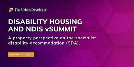 The Urban Developer Disability Housing & NDIS vSummit tickets