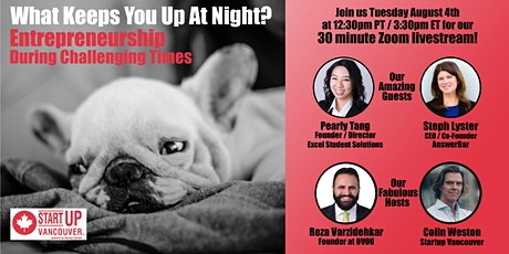 What Keeps You Up At Night? Entrepreneurship During Challenging Times Ep023 tickets