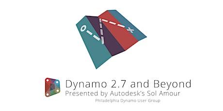 Dynamo 2.7 and Beyond - The Dynamo Roadmap with Autodesk's Sol Amour biglietti