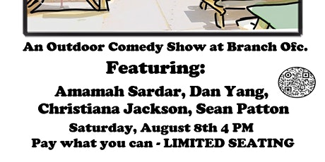 Comedy at Branch Ofc. tickets