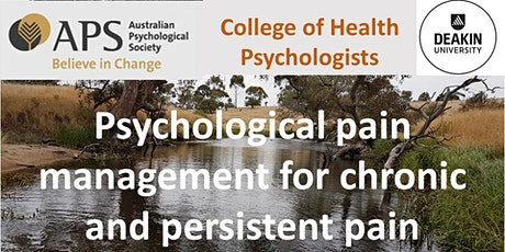 Psychological pain management for chronic and persistent pain tickets