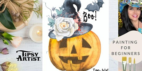 Boo! Painting Tutorial tickets