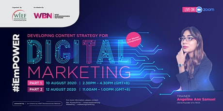 Developing Content Strategy for Digital Marketing | Part 1 tickets