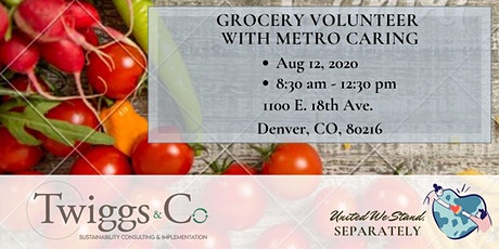 Aug Metro Caring Grocery Volunteer tickets