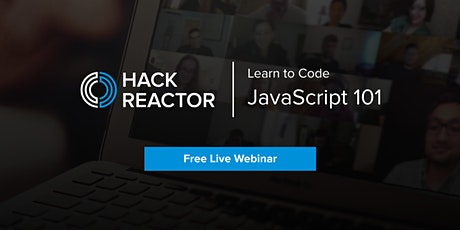 [WEBINAR] JavaScript 101 tickets