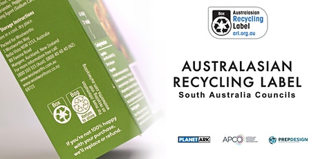 Australasian Recycling Label Webinar for South Australia Councils tickets