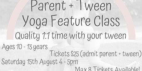 Parent + Tween Yoga Feature Class tickets
