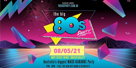 The BIG 80's Party - Hope Estate, Hunter Valley 20