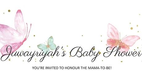 Juwayriyah's Baby Shower tickets