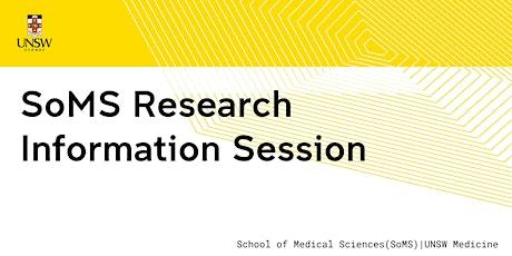 SoMS Research Information Session ingressos