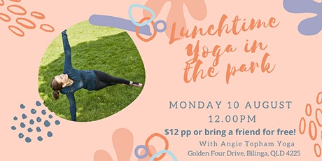 Lunchtime Yoga In The Park tickets