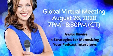 ENGAGING SPEAKERS  -AUGUST- Global Virtual Training tickets