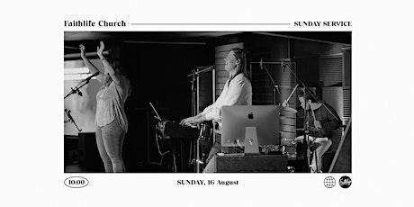 Faithlife Church Service (16 August) tickets