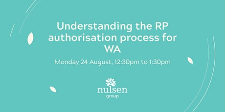Understanding the RP authorisation process for WA tickets