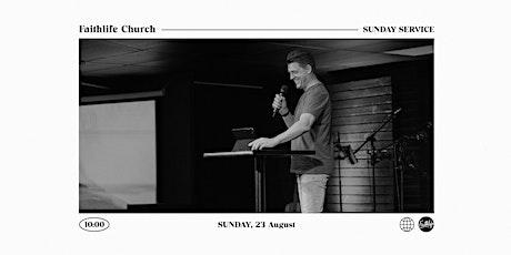 Faithlife Church Service (23 August) tickets