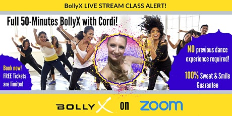 BollyX with Cordi -  FREE TRIAL CLASS on Wednesday tickets