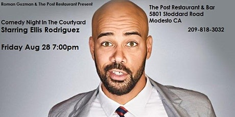 Comedy Night In The Courtyard  Starring Ellis Rodriguez tickets