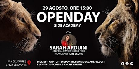 Side Academy Openday 29 Agosto ore 15:00 biglietti