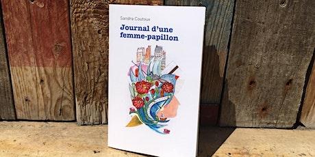 Présentation  du livre Journal d'une  femme-papillon billets
