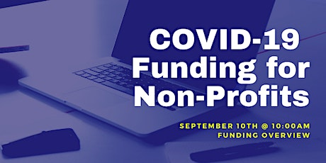 COVID-19 Funding Strategies for  Non-Profits tickets