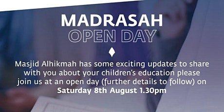 School Open Day at Alhikmah Academy tickets