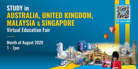 Virtual Education Fair : Study In Australia, UK, Singapore & Malaysia tickets