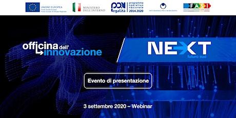 Officina dell'Innovazione   Next - Futuro Sud biglietti