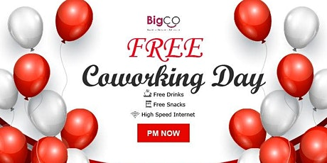 BigCO Penang Free Coworking Day + Business Meetup tickets