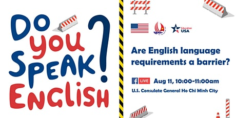 Are English  language requirements a barrier? tickets