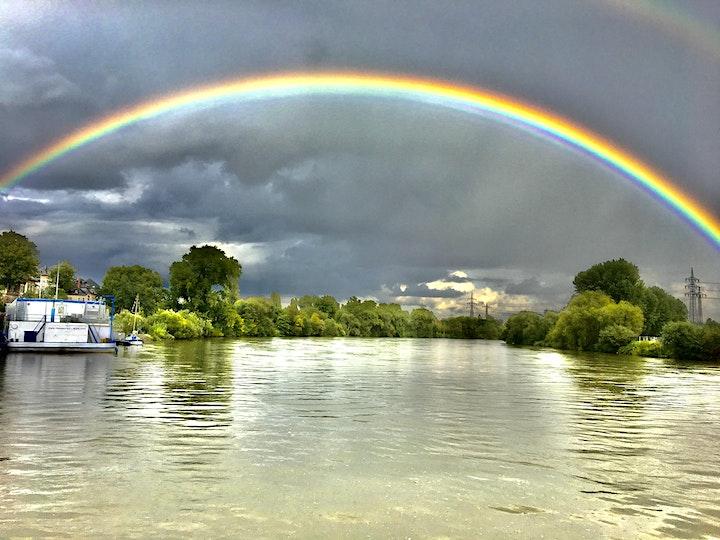 Wo der Main den Rhein trifft -  Flussbegegnungen -  Büffet an Bord: Bild