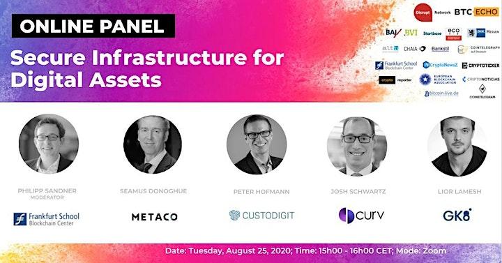 Secure Infrastructure for Digital Assets (Online Panel) image