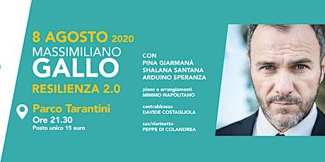 """Marateatro 2020: """"Resilienza 2.0"""" Con Massimiliano Gallo biglietti"""