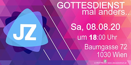08.August  - VCC JesusZentrum Gottesdienst 2 Tickets